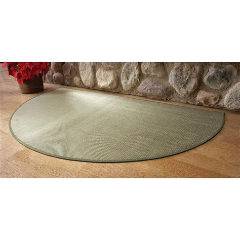 goods of the woods 174 guardian fiberglass hearth rug