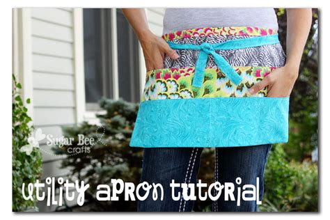 pattern for money apron utility apron tutorial sugar bee crafts