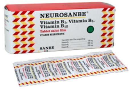 Vitamin Neurosanbe Neurosanbe Kegunaan Dosis Efek Sing Mediskus