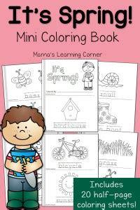 fall worksheet packet for preschool first grade mamas