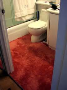 carpet in bathroom i call this performance quot thanksgiving quot