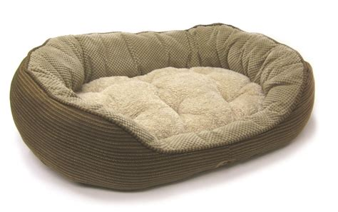 puppy beds precision pet products pillow soft daydreamer bolster bed ebay