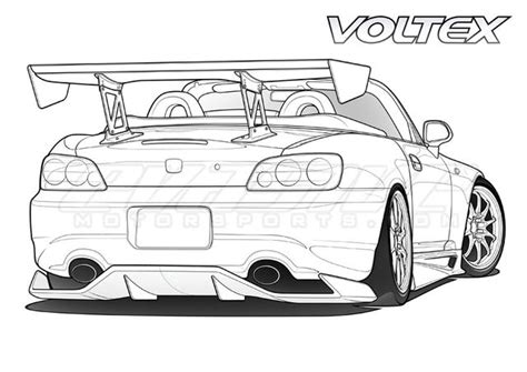 coloring pages drifting cars drawing s2k s2k gallery s2ki honda s2000 forums