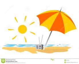 Radio and umbrella on the sand near the seaside mr no pr no 5 8797 32