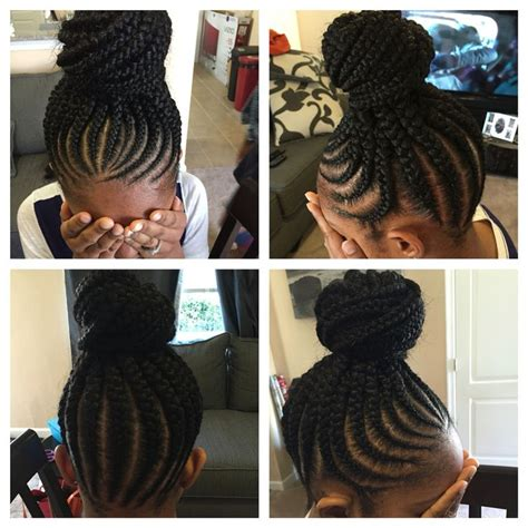 corn roll braids no edges no knot feed in cornrows braids and more pinterest