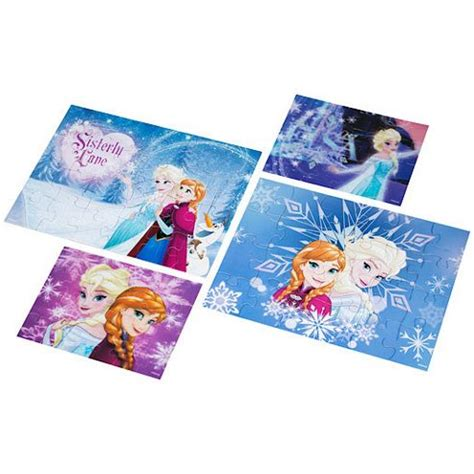 printable frozen jigsaw puzzle buy disney frozen 4 pack puzzle from our jigsaw puzzles