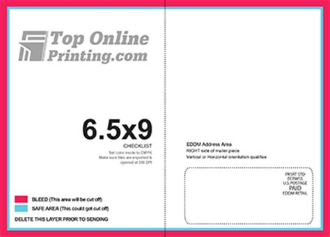 eddm postcard template templates