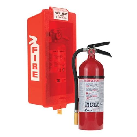 kidde extinguisher with cabinet tub cover