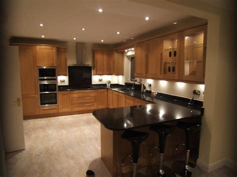 Kitchen Counter Worktops Nero India Granite Worktops Traditional Kitchen