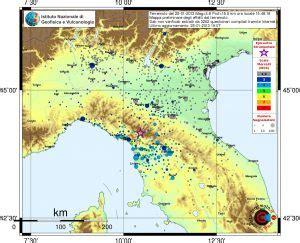 tremore interno a riposo terremoto di oggi pomeriggio in toscana la scheda con gli