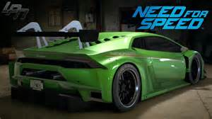 need for speed 2015 lamborghini huracan gameplay