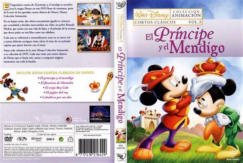 espa a cuento el principe y el mendigo parte 1 de 3 car 225 tula caratula de el principe y el mendigo mickey s