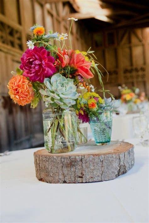 Top 14 Easy Wood Log Centerpiece Designs Unique Wedding Wood Centerpieces For Tables