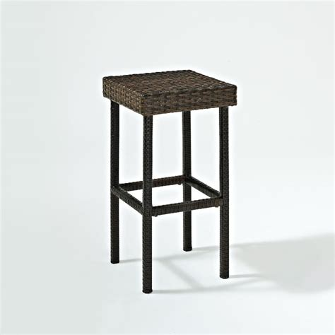 palm harbor brown 24 quot wicker counter height stools