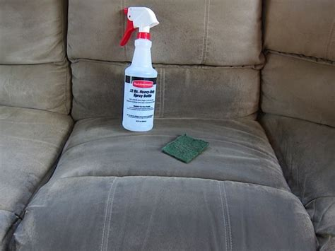 Cleaning Microfiber Sofa by How To Clean A Microsuede With One Simple Ingredient