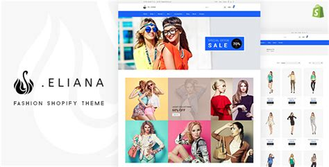 shopify themes nulled eliana girls fashion accessories store shopify theme