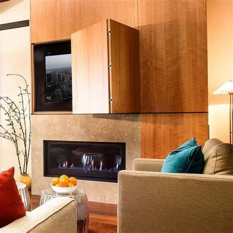 hidden tv with doors 22 modern ideas to hide tvs behind hinged or sliding doors