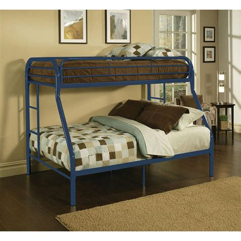 twin or full bed kids childrens unique twin over full metal bunk bed