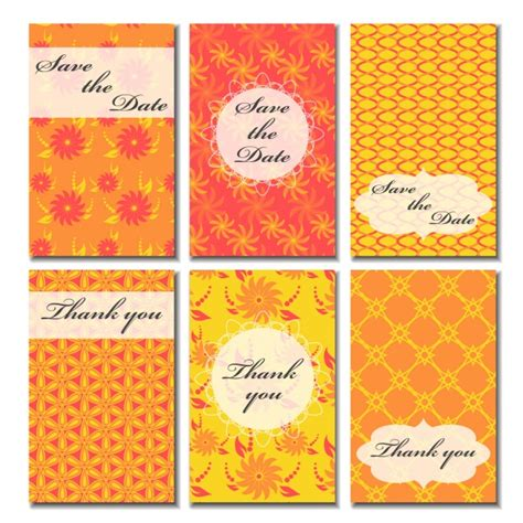 wedding card collection wedding cards collection vector free