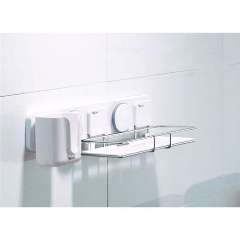 suction shelf bathroom suction bathroom shelf modern style plastic stainless