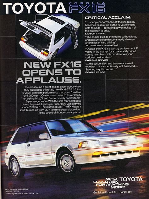 Toyota New Ad Auto Neurotic Fixation Potential New Project 1987