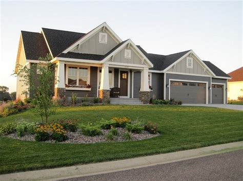 exterior house colors for ranch style homes ranch house exterior colors exterior craftsman home