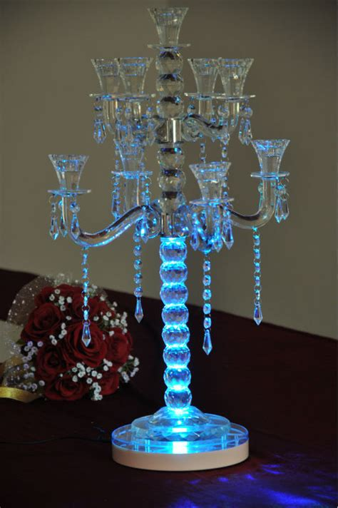 lithium battery operated remote controlled colorful 8 quot led