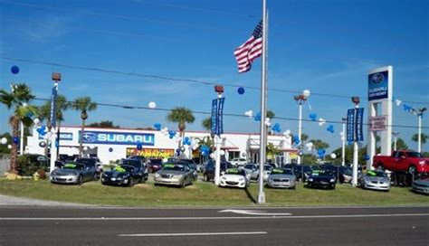 Car Dealerships In Port Richey Fl by Lokey Subaru Of Port Richey Car Dealership In Port Richey