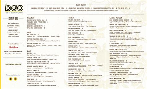 Baos Kitchen Menu menu for bao 1200 e las olas boulevard