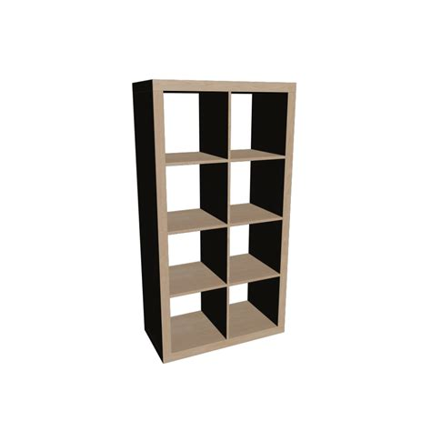 ikea shelving expedit shelving unit design and decorate your room in 3d