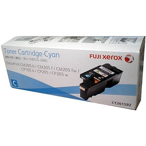 Fuji Xerox Docuprint C3055 Cyan fuji xerox ct201592 cyan genuine toner cartridge ink hub australia