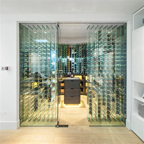 Home Wine Cellar Design Uk by St Johns Wood Contemporary Wine Cellar London By
