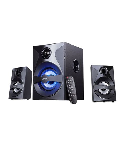 Bluetooth Device For Home Theater by Buy F Amp D F380x 2 1 Bluetooth Speaker Black Online At Best