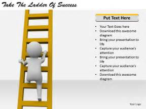 2413 business ppt diagram take the ladder of success