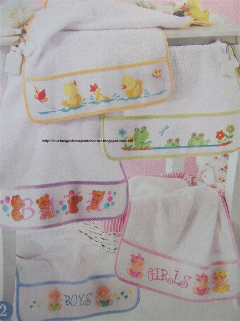 patrones de bordados para bebes graficos punto de cruz gratis baberos cenefas canastilla