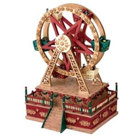 mr christmas animated musical ferris wheel