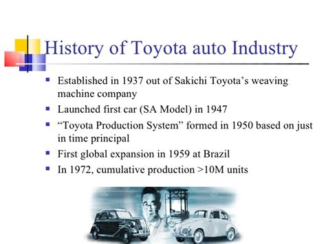 toyota company overview presentation on toyota motors 1