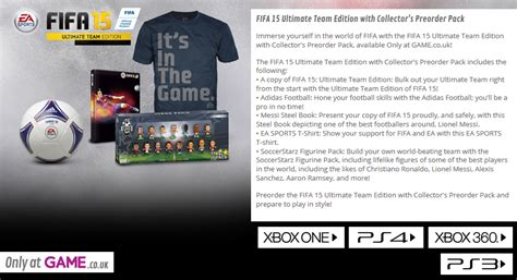 Special Edition Kaset Ps Vita Fifa 15 fifa 15 special editions revealed tap my buttons