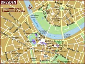 Aberdeen Coffee Table - map of dresden
