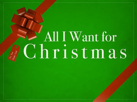 All I Want For by All I Want For Harvest Bible Chapel Granger