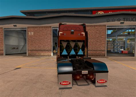 peterbilt  vintage wood ats ets skin euro truck simulator  mods