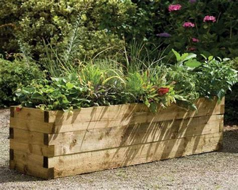 Planters Garden by Beautiful And Useful Wooden Planters Dear Designer