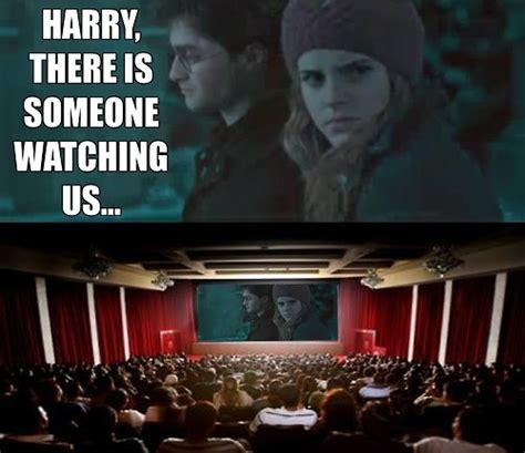 Funny Memes Harry Potter - meme images harry potter hermione watching potterwatch