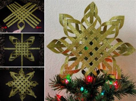 diy woven star tree toppers pictures photos and images