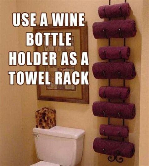 diy bathroom space saver bathroom space saver tips tricks pinterest wine