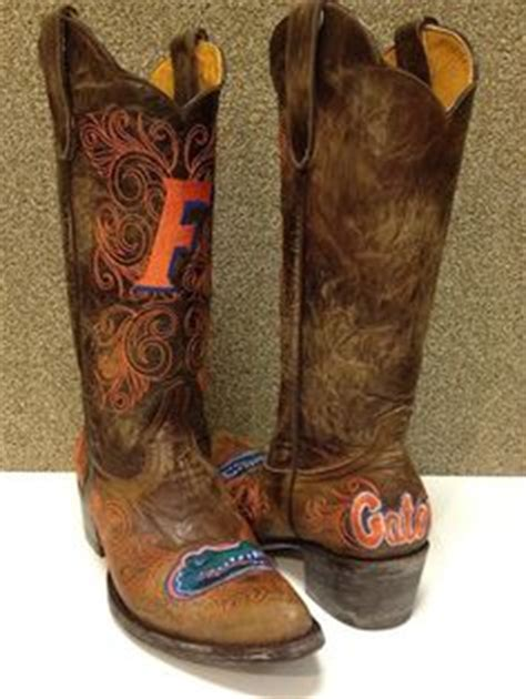 florida gator cowboy boots 1000 images about orange blue fabulousness on