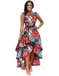 Dresses summer maxi dress african dresses for women dashiki print