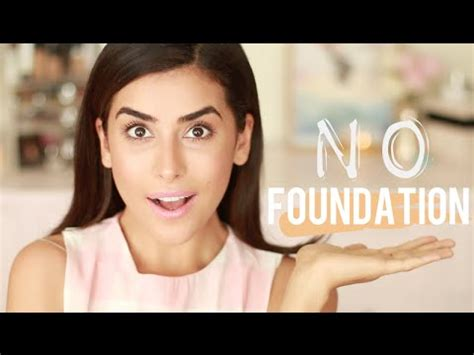 tutorial makeup flawless indonesia no foundation makeup tutorial flawless finish easy