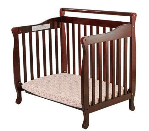 Babies R Us Portable Crib by On Me 4 In 1 Portable Convertible Crib Cherry