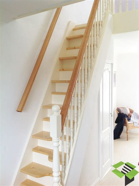 Stair Decor white amp pine spacesaver staircase stairbox staircases